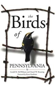 Cover of: The birds of Pennsylvania