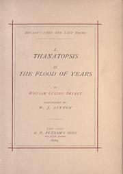 Cover of: Thanatopsis