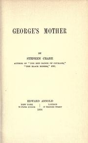 Cover of: George's mother