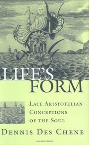 Cover of: Life's form