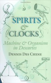 Cover of: Spirits and Clocks