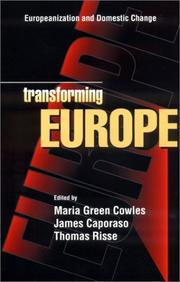 Cover of: Transforming Europe  |