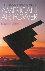 Cover of: The Transformation of American Air Power (Cornell Studies in Security Affairs)
