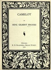 Cover of: Camelot
