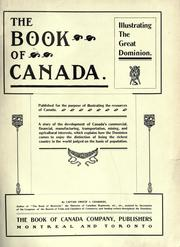 Cover of: The book of Canada