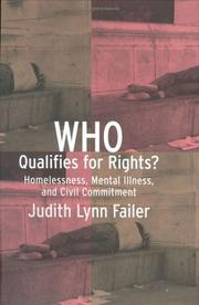 Who qualifies for rights? by Judith Lynn Failer