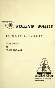 Cover of: Rolling wheels