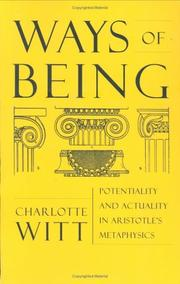 Cover of: Ways of Being | Charlotte Witt