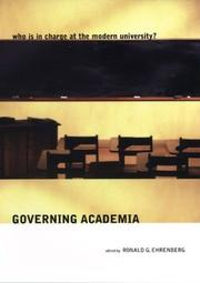 Cover of: Governing Academia