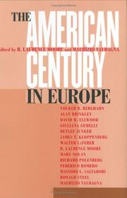 Cover of: The American century in Europe |