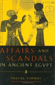 Cover of: Affairs and scandals in Ancient Egypt