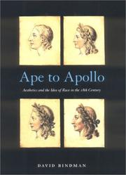 Ape to Apollo by Bindman, David.