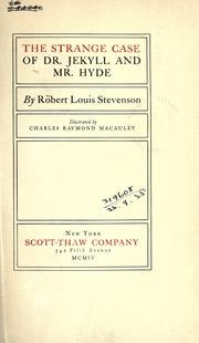 an analysis of the two side of human in the strange case of dr jekyll and mr hyde by robert louis st The strange case of dr jekyll and mr hyde you and i must be the two oldest friends that henry jekyll has case of dr jekyll and mr hyde robert louis.