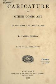 Cover of: Caricature and other comic art: in all times and many lands