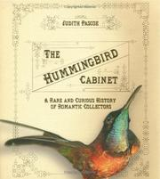 Cover of: The hummingbird cabinet