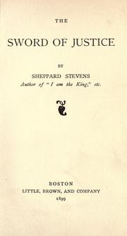 The sword of justice by Sheppard Stevens