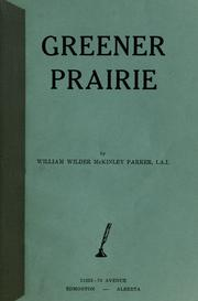 Cover of: Greener prairie