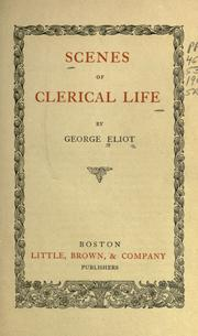 Cover of: Scenes of clerical life by George Eliot