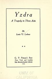 Cover of: Yzdra