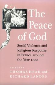 Cover of: The Peace of God |