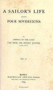 Cover of: A sailor's life under four sovereigns