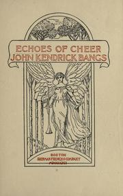 Cover of: Echoes of cheer
