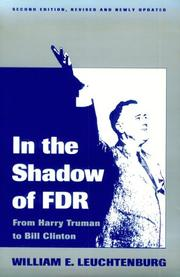 Cover of: In the Shadow of F.D.R