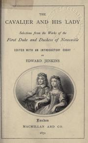 Cover of: The cavalier and his lady