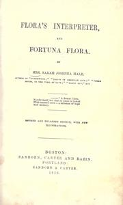 Cover of: Flora's interpreter, and fortuna flora