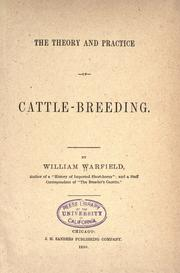 Cover of: The theory and practice of cattle-breeding