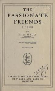 Cover of: The passionate friends; a novel