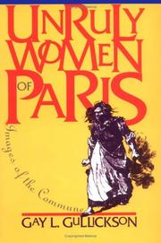 Cover of: Unruly women of Paris