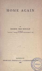 Home again by George MacDonald