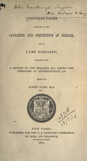 Cover of: Contributions relating to the causation and prevention of disease