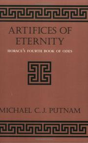 Cover of: Artifices of Eternity | Michael C. J. Putnam