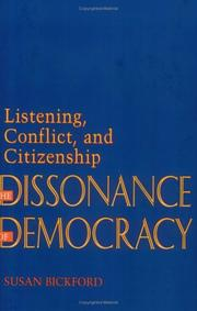 Cover of: The dissonance of democracy