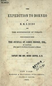 Cover of: The expedition to Borneo of H.M.S. Dido for the suppression of piracy