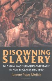 Cover of: Disowning Slavery | Joanne Pope Melish