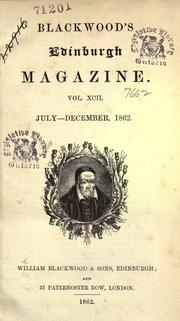 Blackwood's magazine.