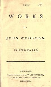 Cover of: Works. In two parts