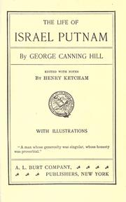 Cover of: The life of Israel Putnam