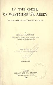 Cover of: In the choir of Westminster Abbey