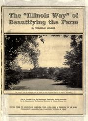 "Cover of: The "" Illinois way"" of beautifying the farm"