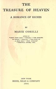 Cover of: The treasure of heaven: a romance of riches