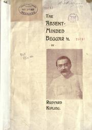 Cover of: The  absent-minded beggar