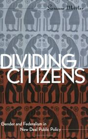 Cover of: Dividing citizens | Suzanne Mettler