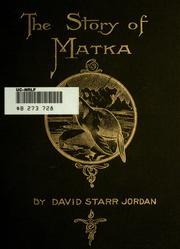 Cover of: The story of Matka: a tale of the Mist-Islands