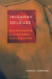 Cover of: Irigaray & Deleuze | Tamsin Lorraine
