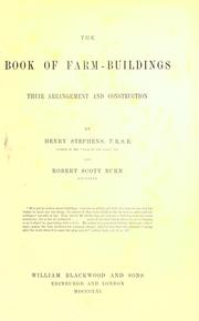 Cover of: The book of farm-buildings