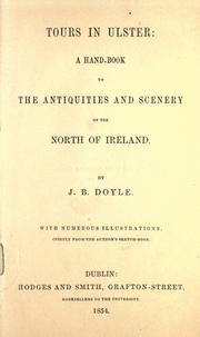 Cover of: Tours in Ulster by J. B. Doyle